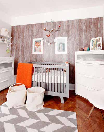 beautiful nursery with crib
