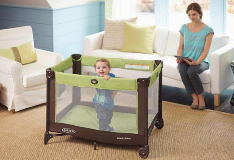 best travel crib from graco