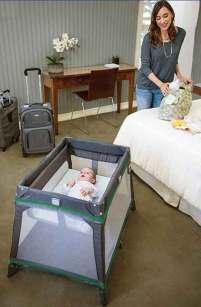 graco travel crib