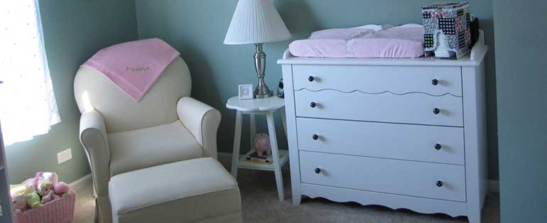 beautiful changing table