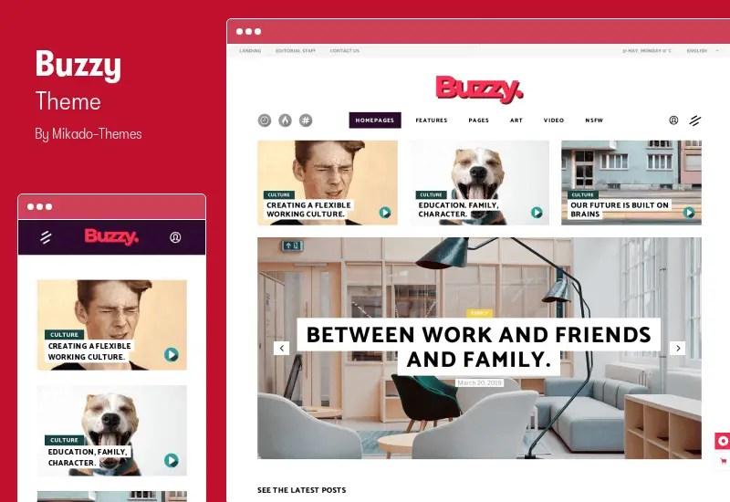 Buzzy Theme - Creative Magazine Theme