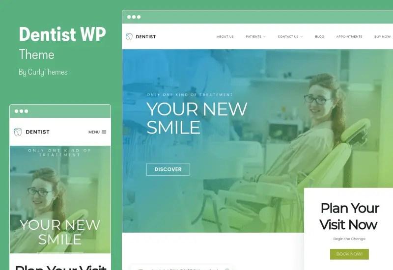 Dentist WP Theme - Dental Clinic WordPress Theme