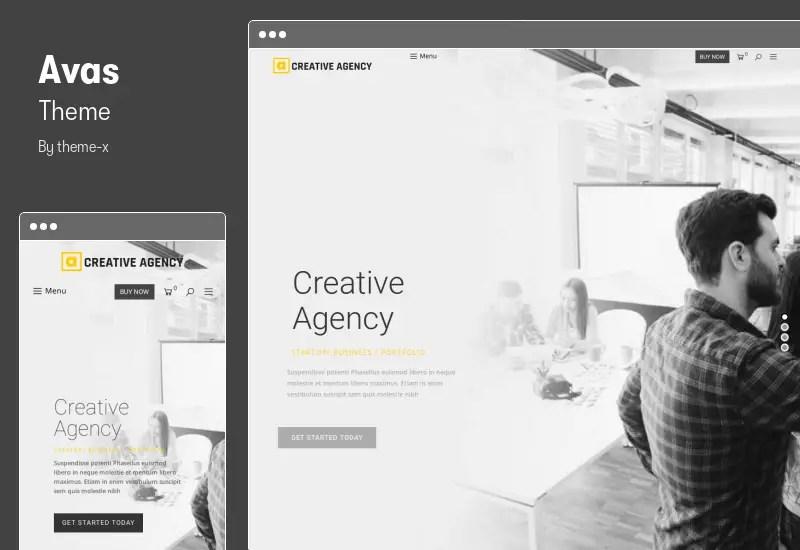 Avas Theme - Multi-Purpose WordPress Theme
