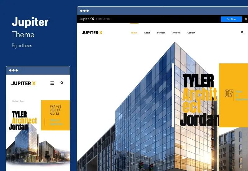 Jupiter Theme - Multi-Purpose Elementor Theme