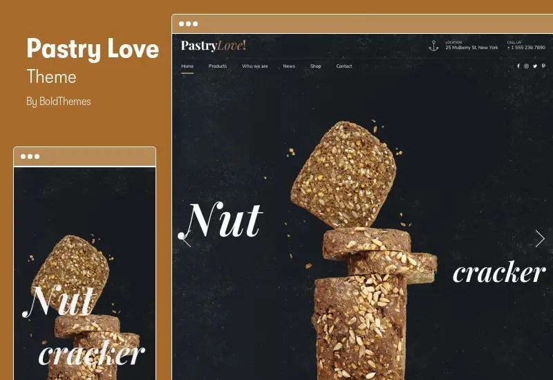 Pastry Love Theme - Bakery & Cake Shop WordPress Theme