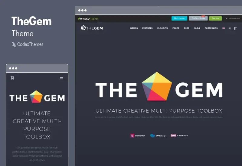 TheGem Theme - Creative Multi-Purpose High-Performance WordPress Theme