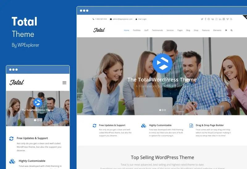 Total Theme - Responsive Multi-Purpose WordPress Theme