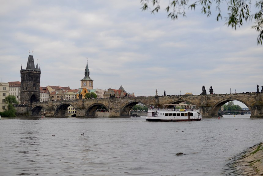 river in Prague