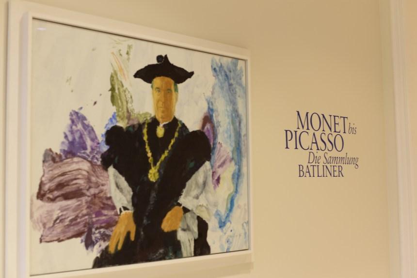 inside Albertina Vienna Monet bis picasso