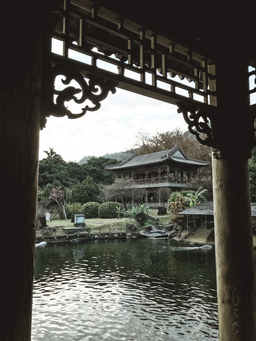 Zhishan Garden 至善園 travel in Taipei taiwan photography spot