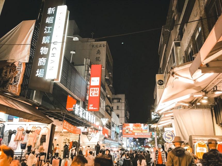Night market- Shinkuchan Shopping District 新崛江 night life in Taiwan