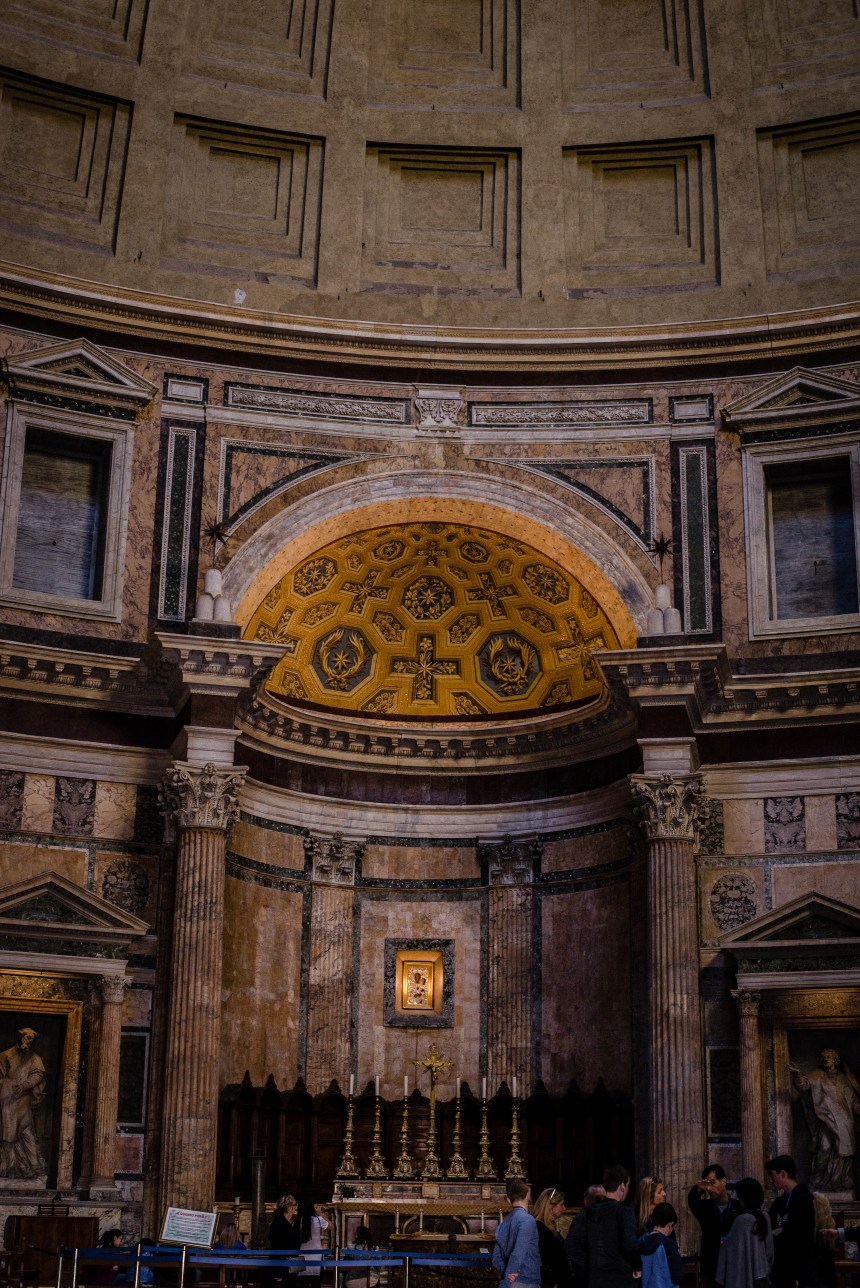 Inside Pantheon & Fontana del Pantheon Rome trip guide must see