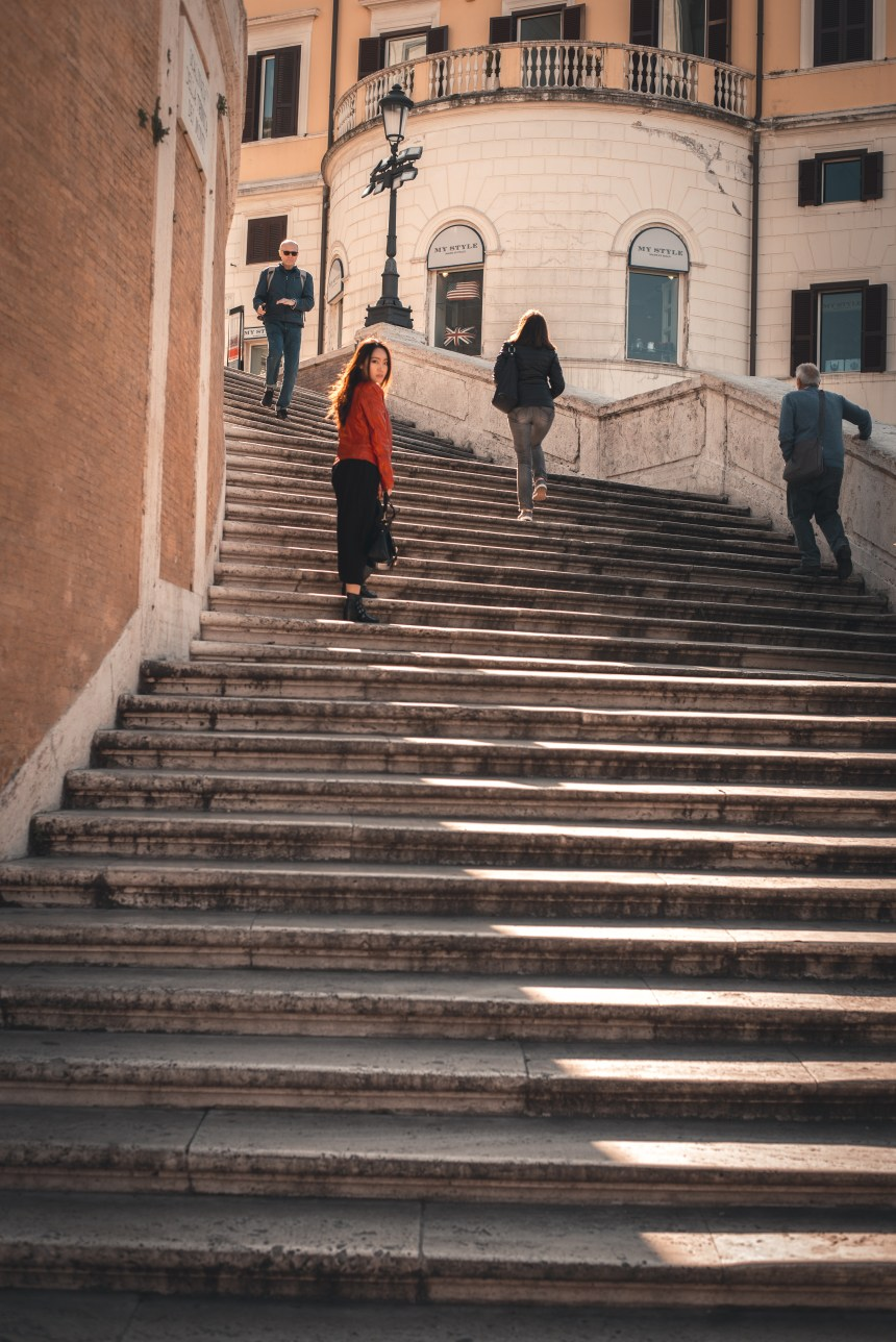 Piazza di Spagna SPANISH steps Rome 5 day trip itinerary