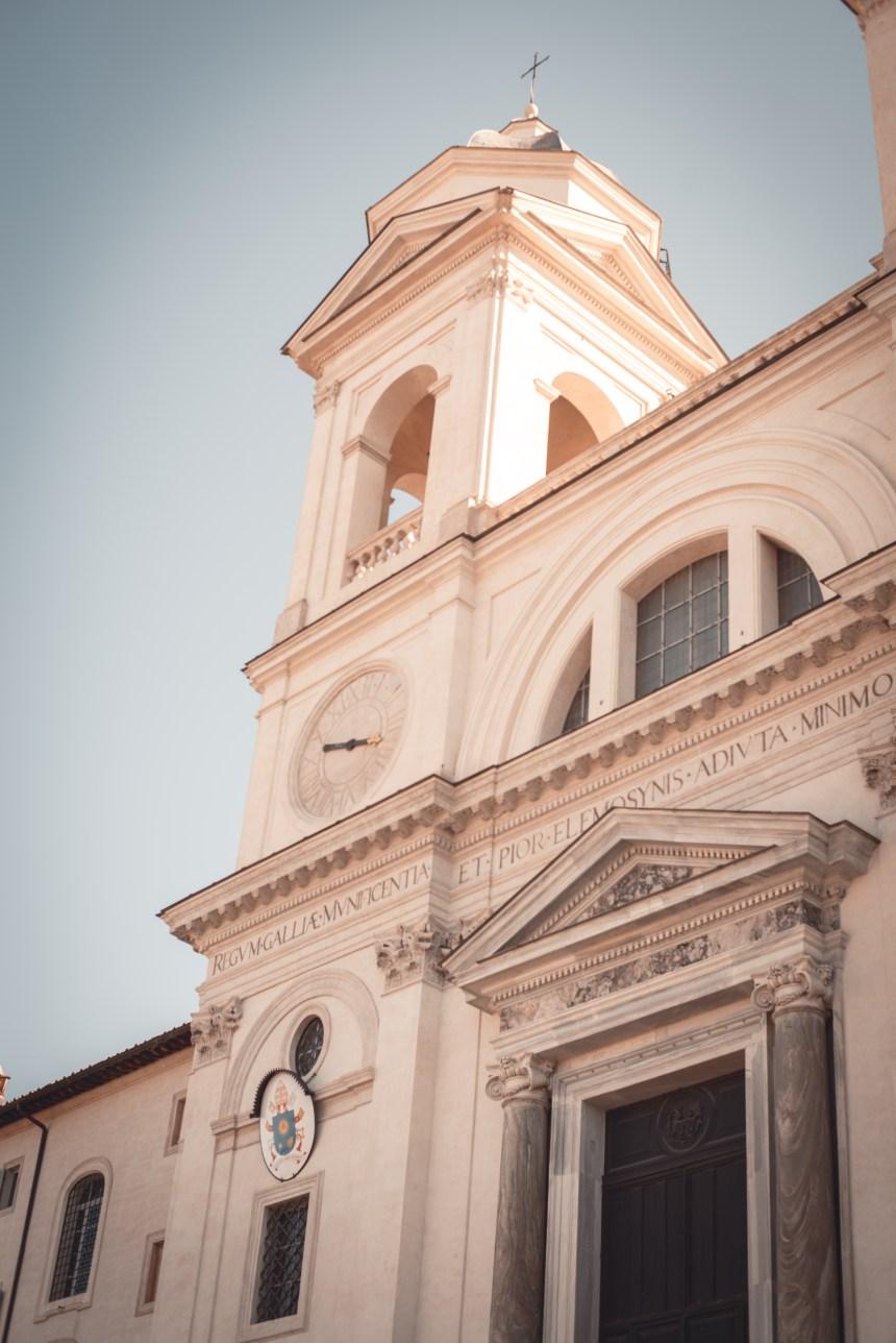 Piazza di Spagna SPANISH steps Rome trip guide church