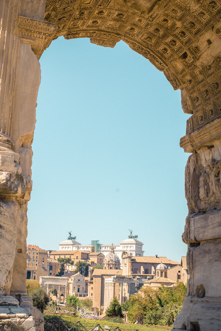 what to see in Roman forum