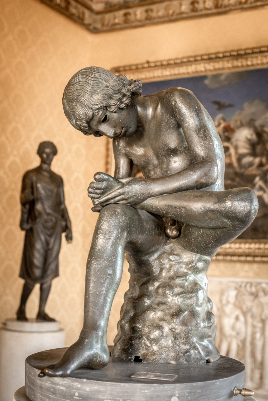 The Dying Gaul, the Spinario rome museum must see 6 day trip