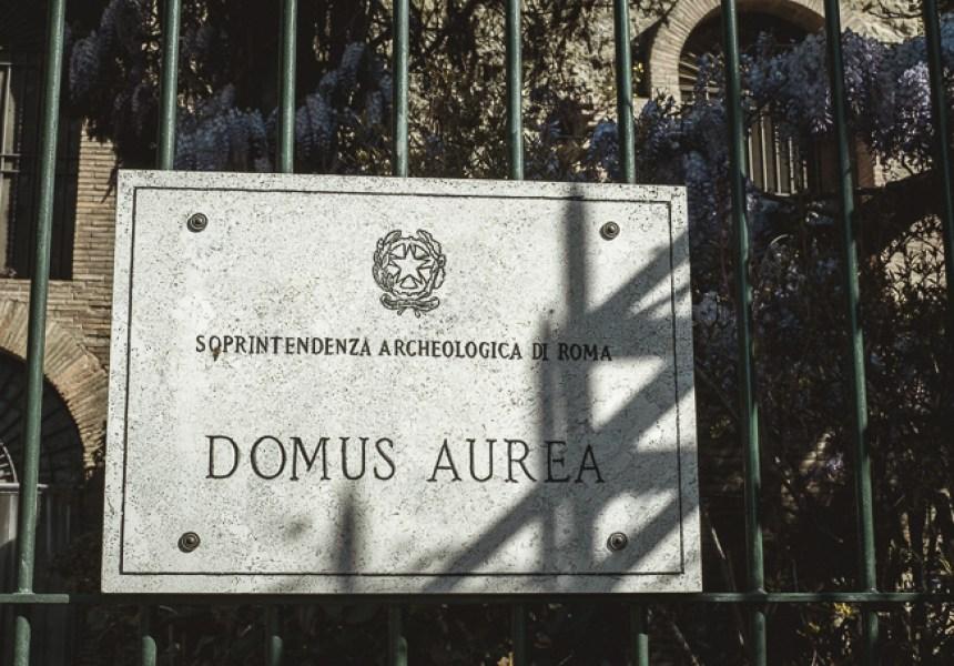 gate Domus Aurea
