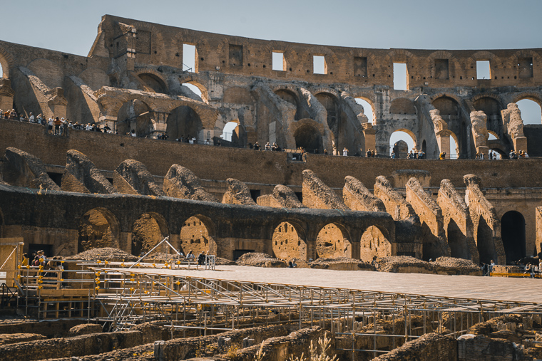 Colosseum Rome trip itinerary