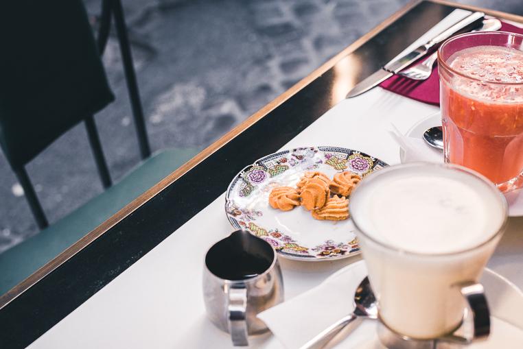 La Buvette breakfast in Rome