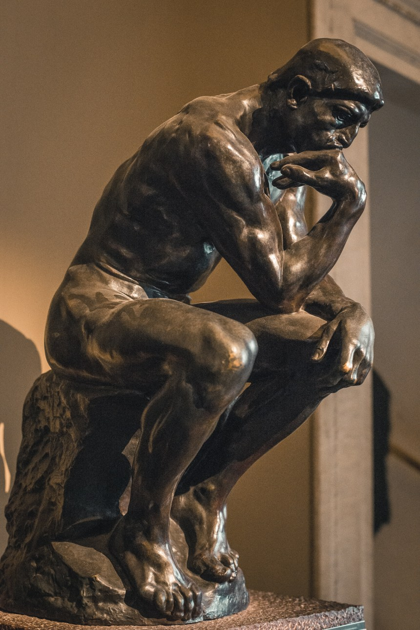 Le Penseur The Thinker