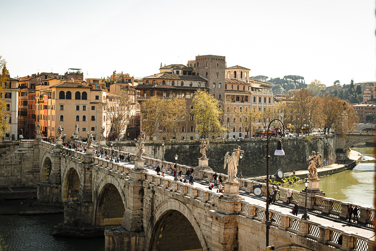 Ponte Sant'Angelo Rome what to see