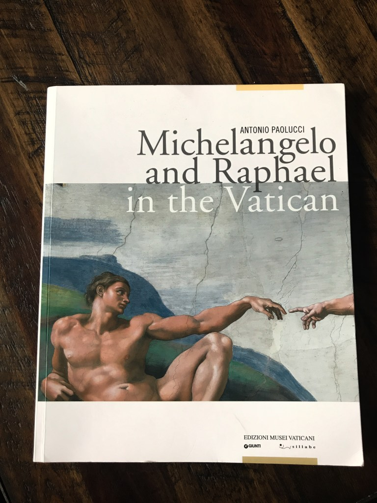 highly suggest guide book of Vatican museum.
