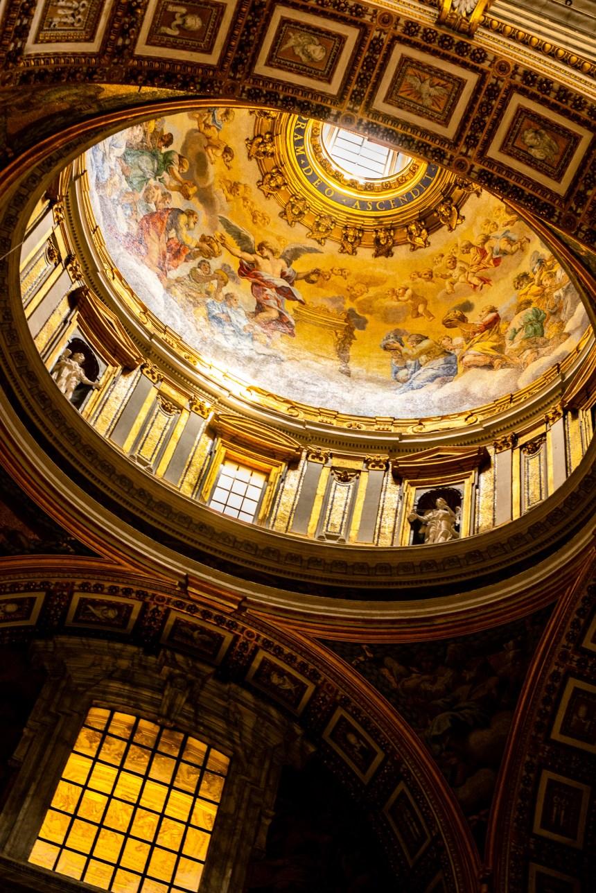 St Peter's Basilica sunshine Rome