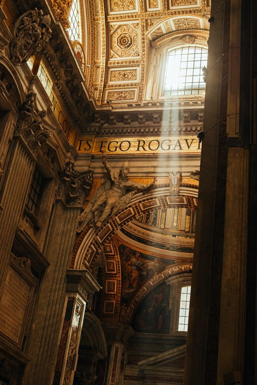 St Peter's Basilica sunshine
