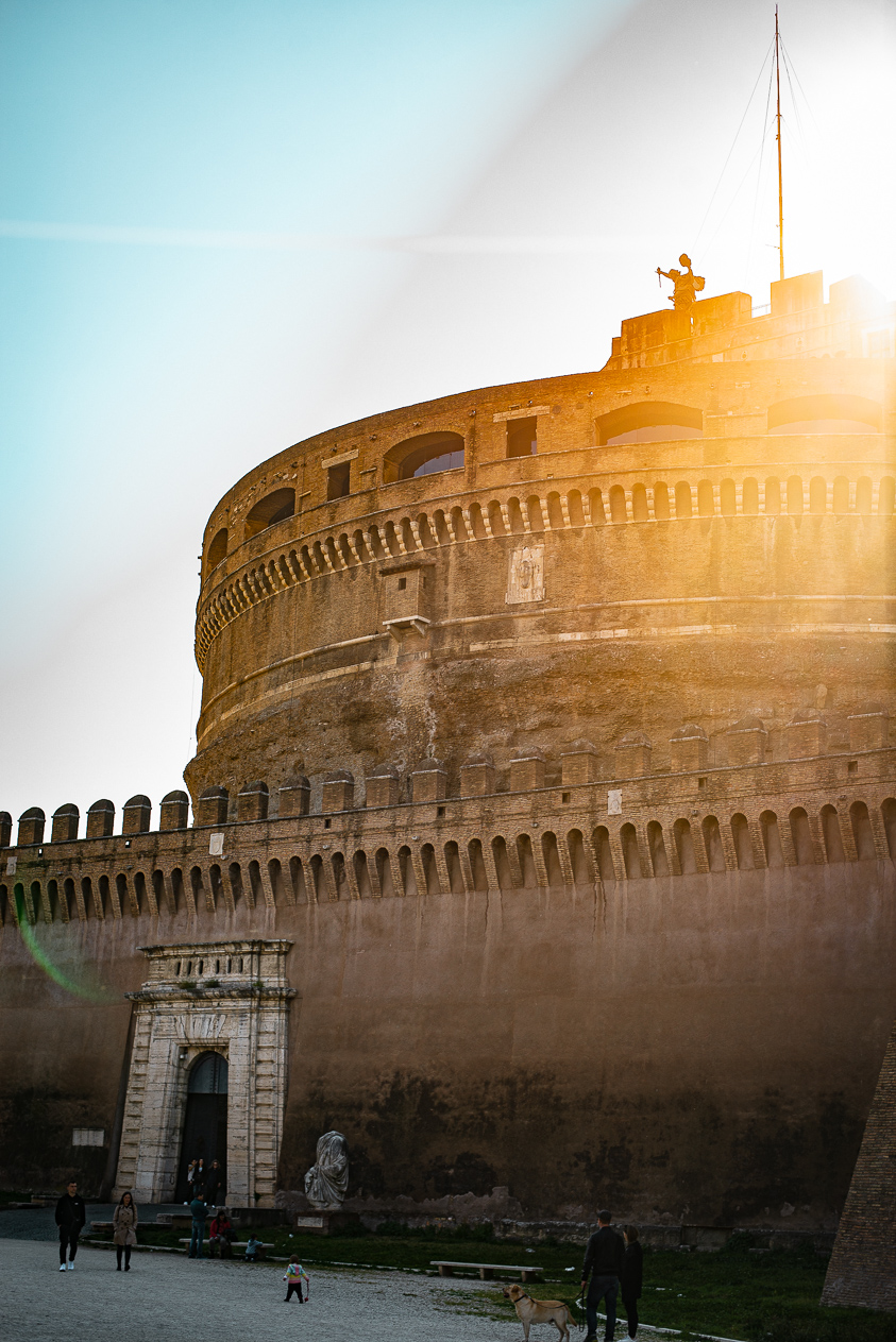 Sunset at Castel Sant'Angelo