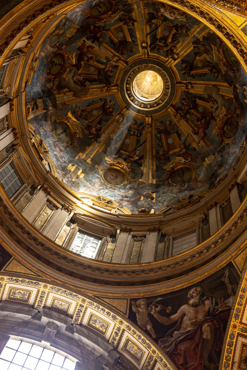 light inside St Peter's Basilica