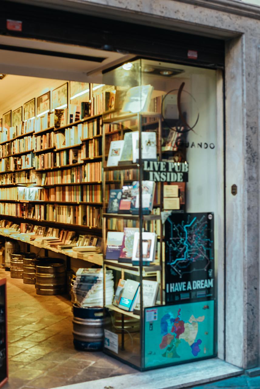 Altroquando bookstore Rome