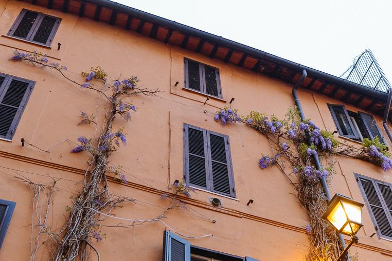 Rome street pretty view