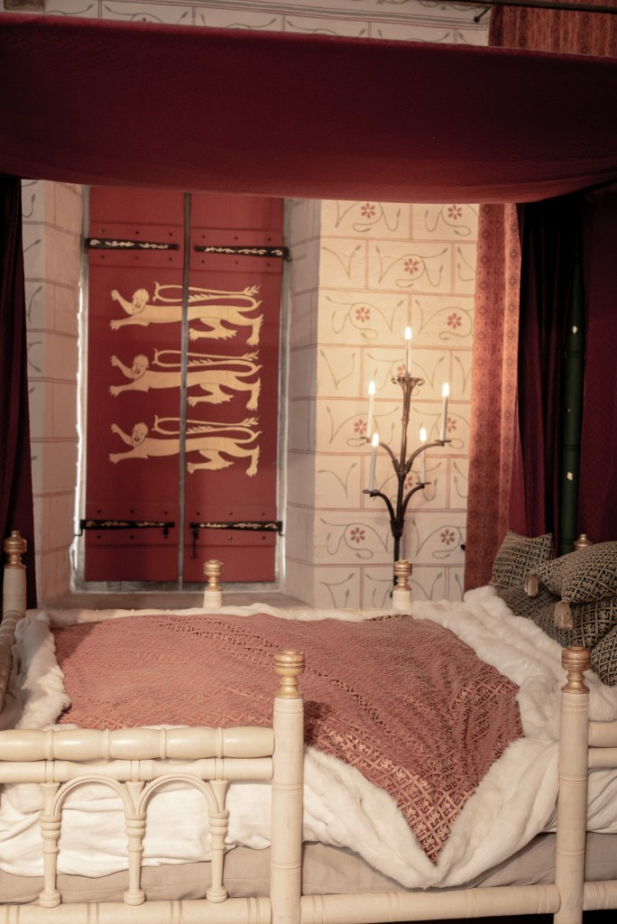 king's bed in Tower of London