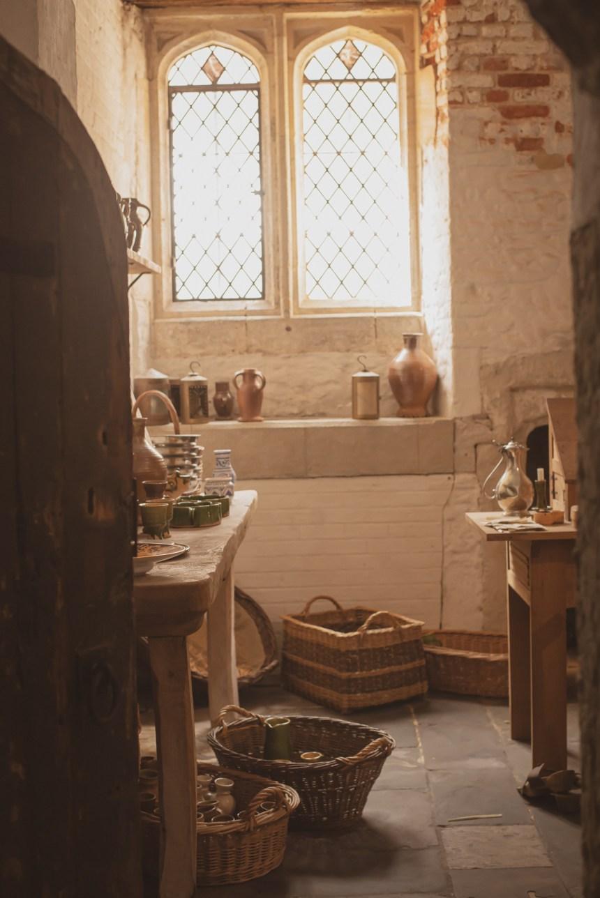 Hampton court palace Henry VIII kitchen london experience
