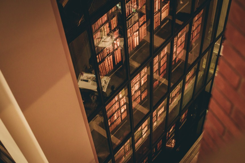 inside British Library experience