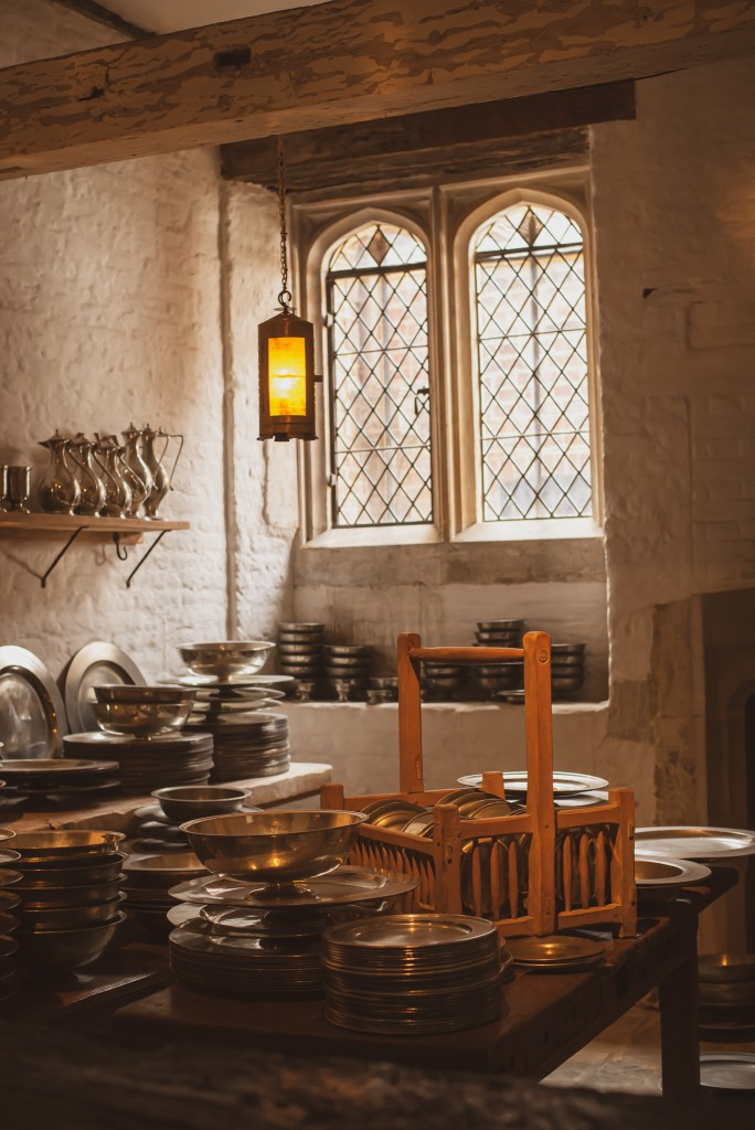 Hampton court palace Henry VIII kitchen london experience