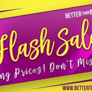 BTB Flash Sale
