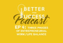 Three Phases of Entrepreneurial Work/Life Balance