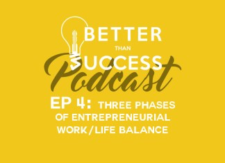 Three Phases of Entrepreneurial Work/Life Balance