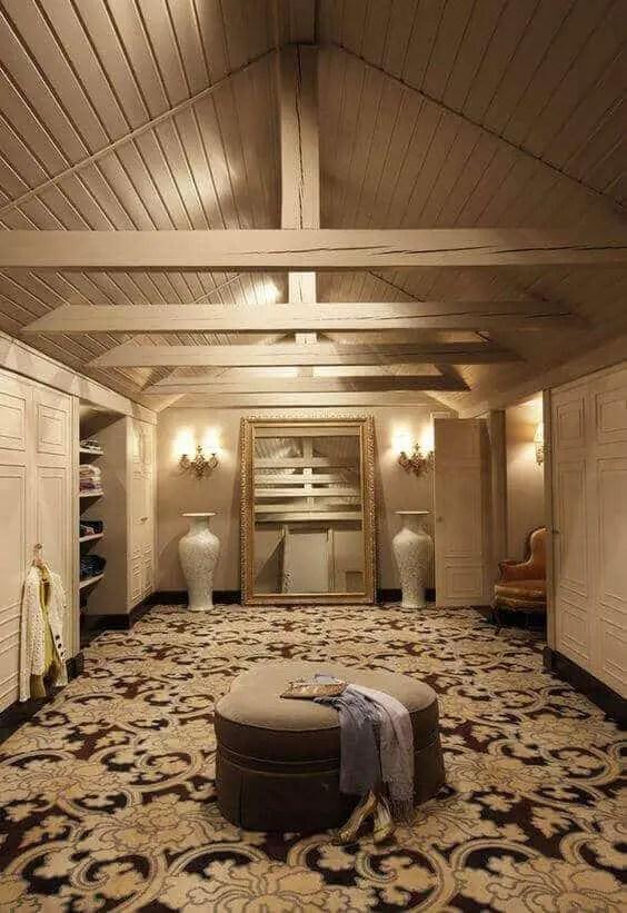 34 Best Examples Of Attic Closet Design Ideas