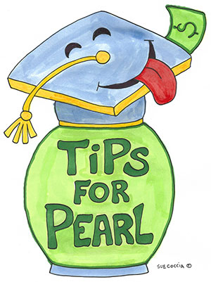 The Pearl Foundation Tip Jar