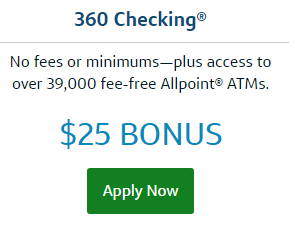 Capital One 360 Checking account Apply Now