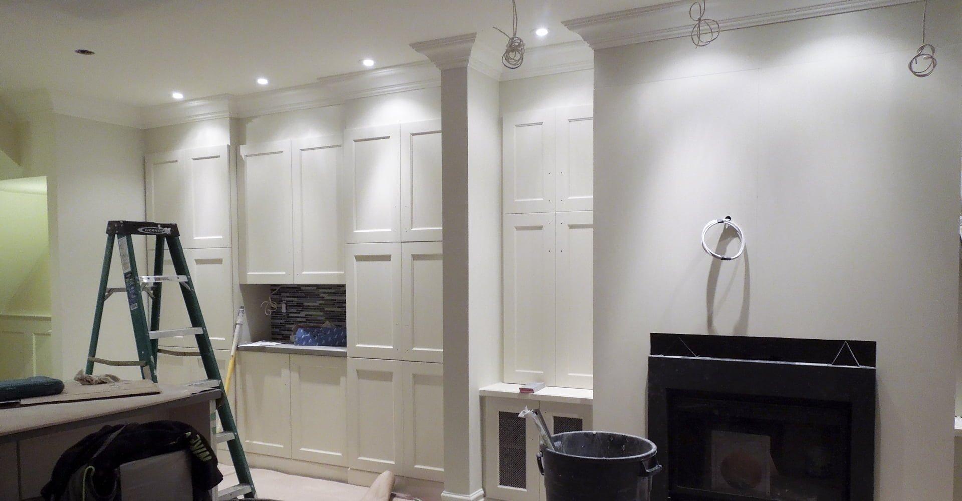 Nearly-finished basement