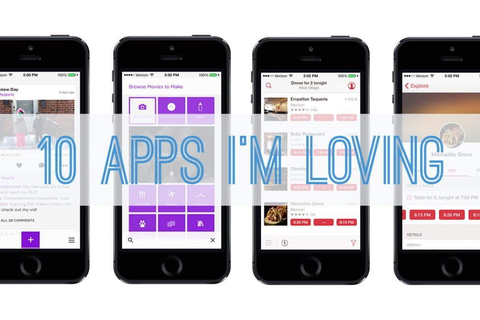 10 Apps I Am Loving - Better with Family (www.betterwithfamily.com)