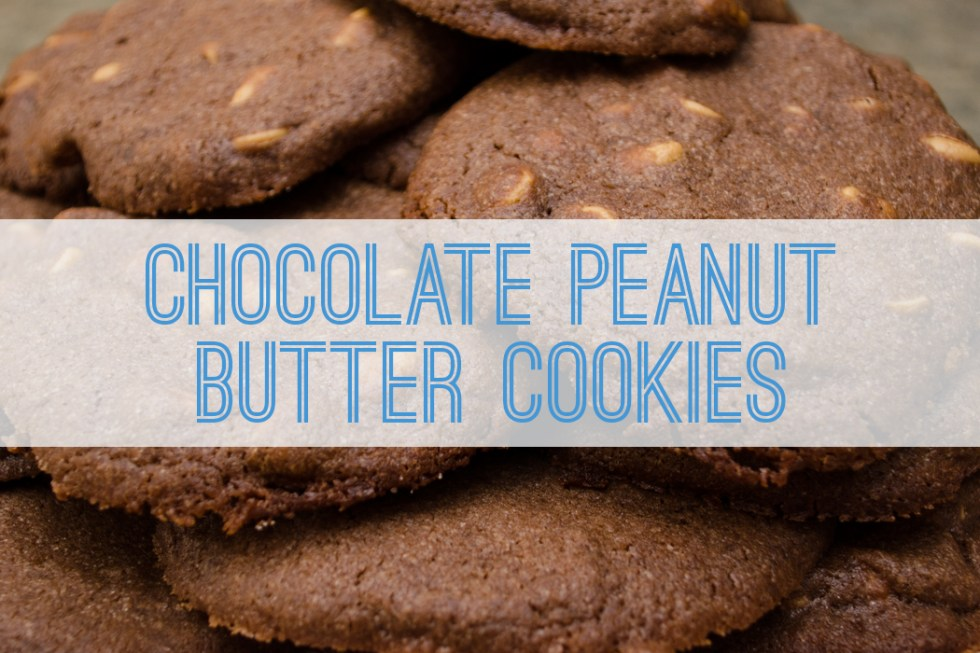 Chocolate Peanut Butter Cookies - Better with Family (www.betterwithfamily.com)