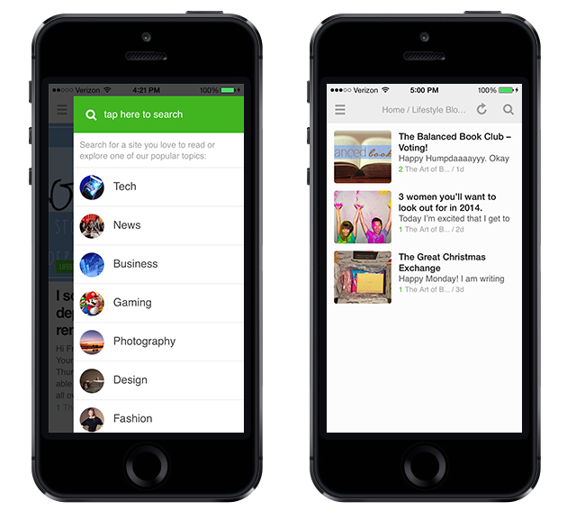 Feedly iPhone App - Better with Family (www.betterwithfamily.com)