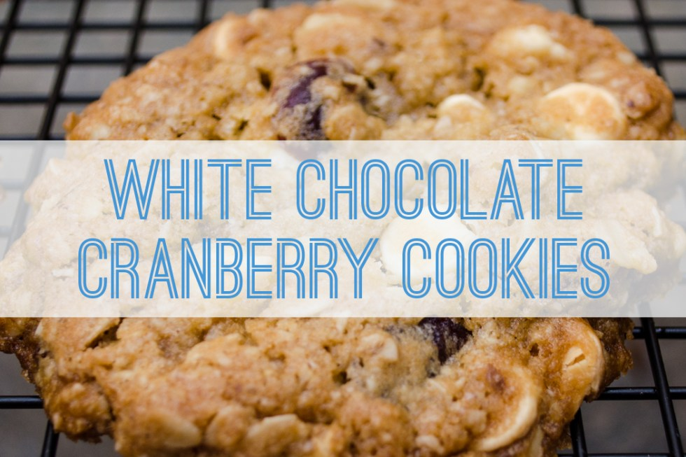 White Chocolate Cranberry Cookies - Better with Family (www.betterwithfamily.com)