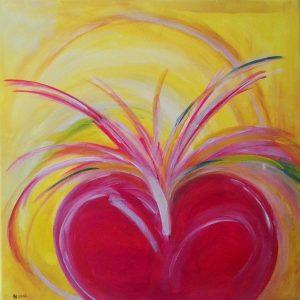 Angst oder Liebe - das Herzbild