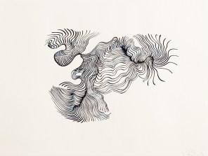 Mindmaps - Serie, 2010/11, Tuschezeichnung, Masse 20×30 cm
