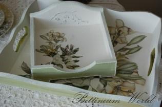 Serwetnik w kwiaty (sprzedany, można zamówić podobny)